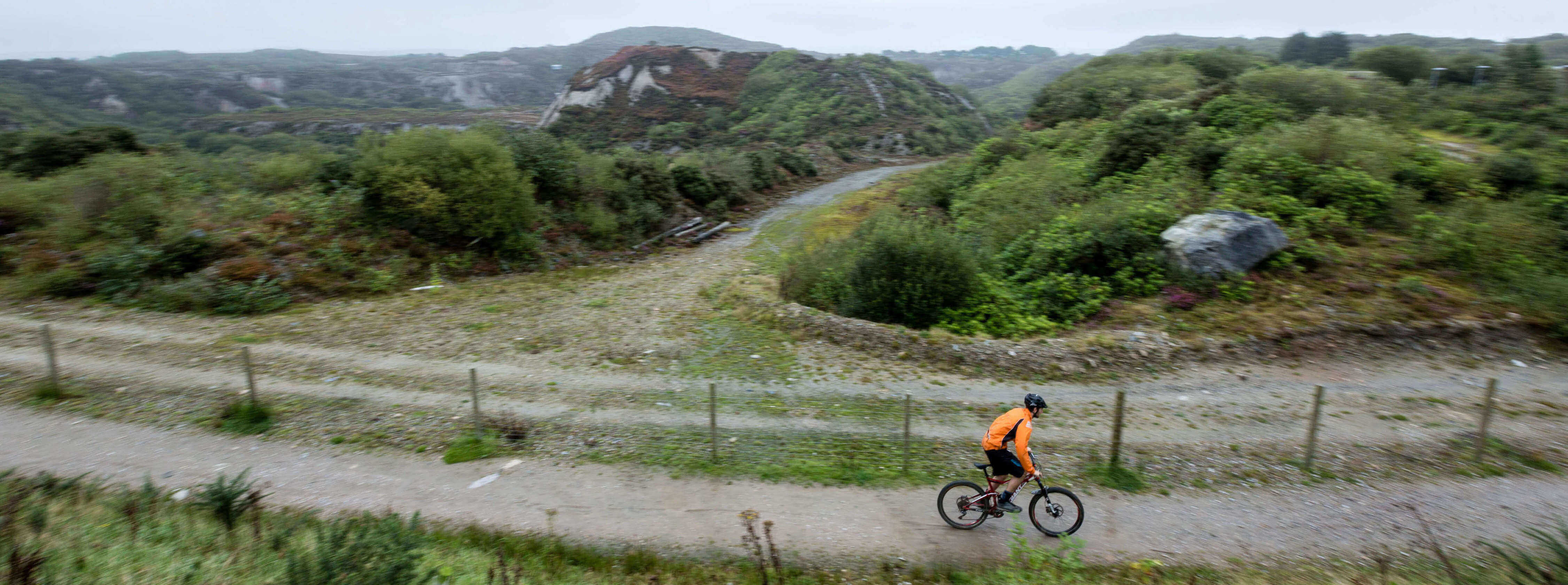 Cycling on the St Austell Clay Trails | St Austell