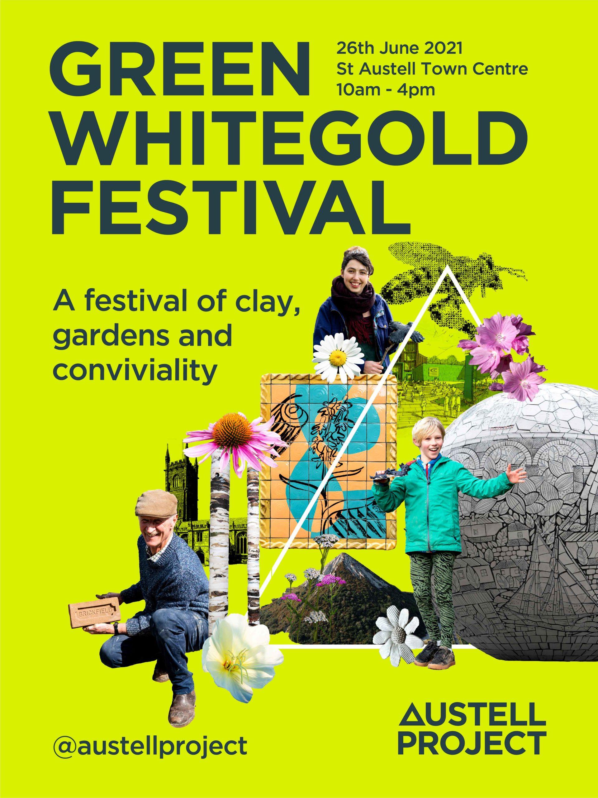 St Austell Green Whitegold Festival Flyer