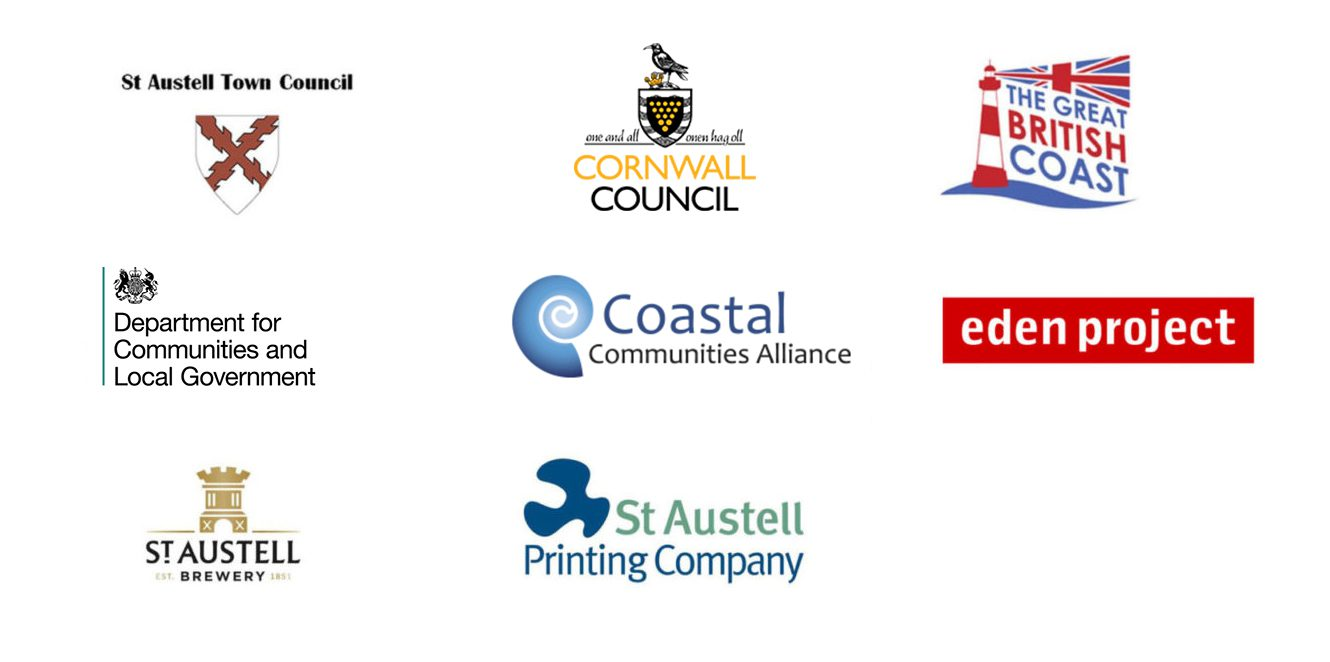 St Austell Project Logos