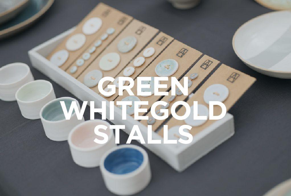 Stalls at the Whitegold Festival