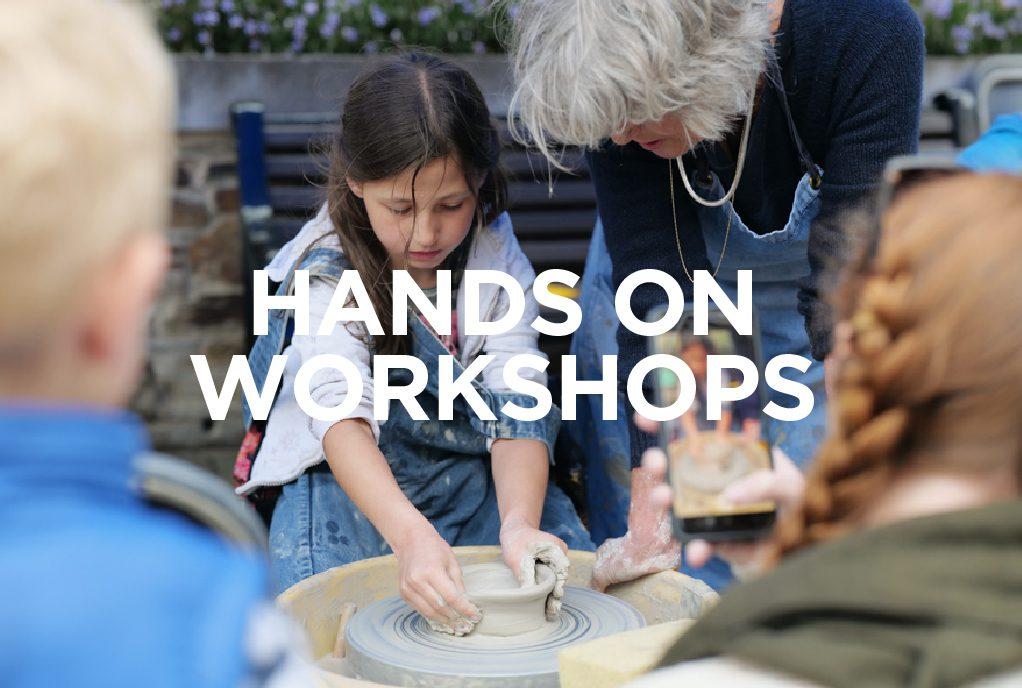 Workshop at the Whitegold Festival