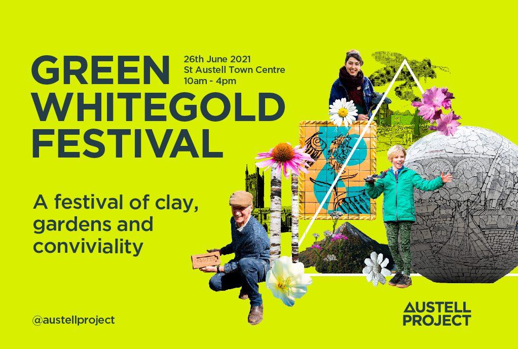 St Austell Green Whitegold Festival Banner
