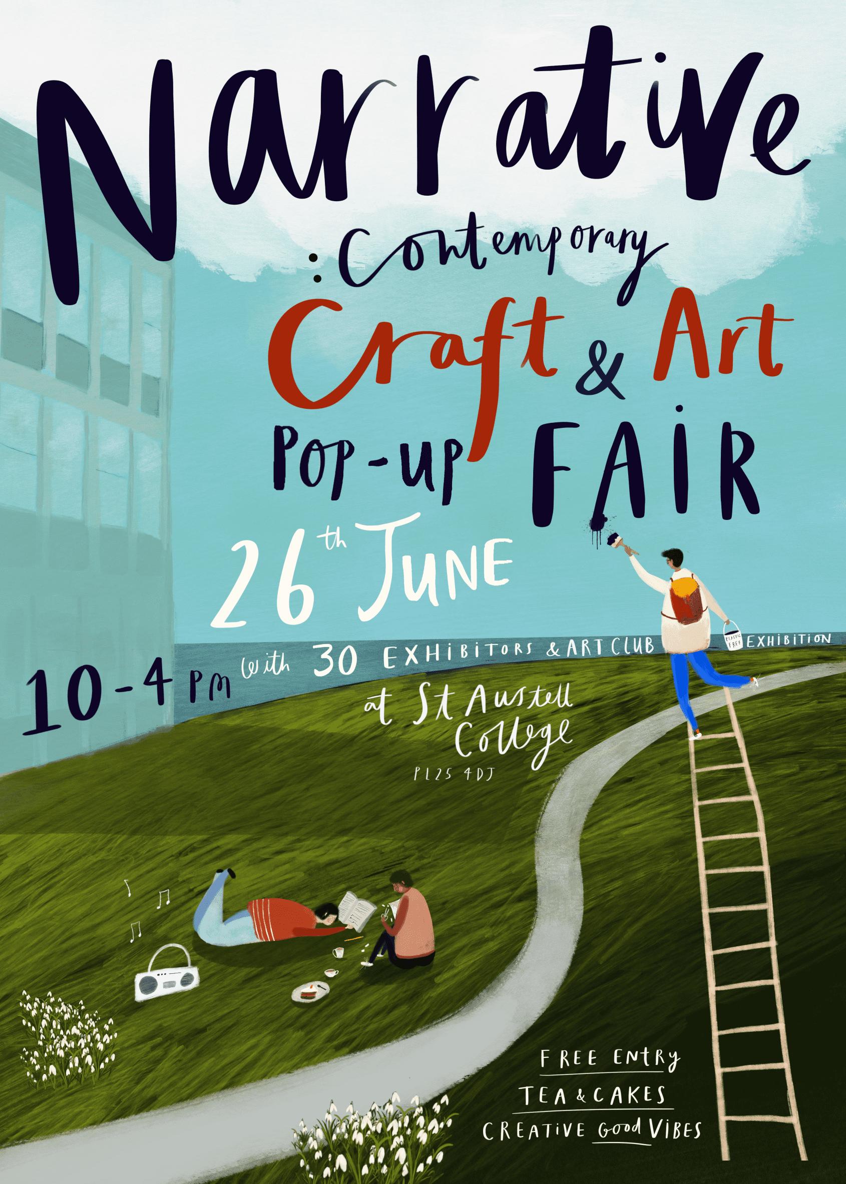 Narrative Craft Fair St Austell